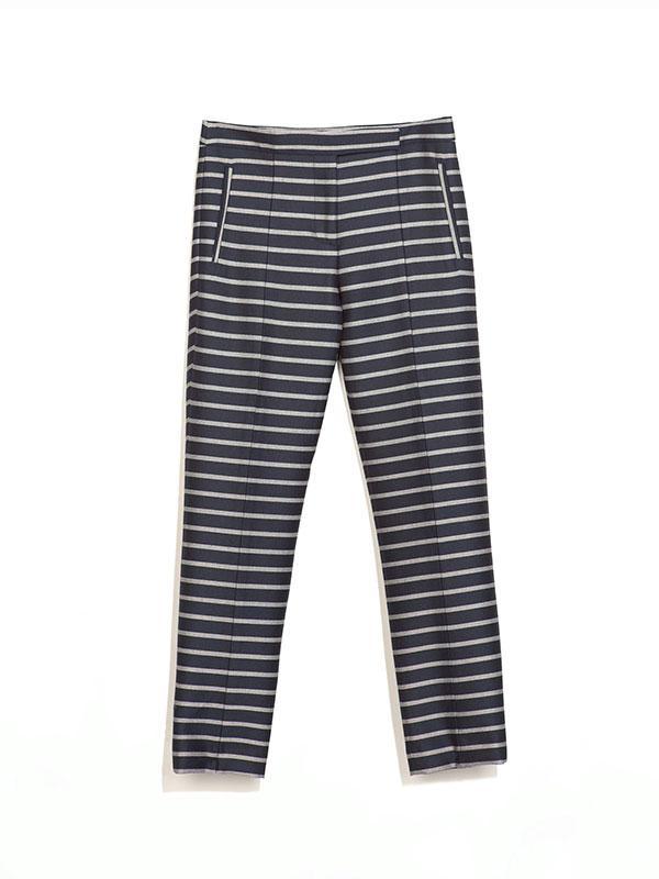 Zara Striped Trousers