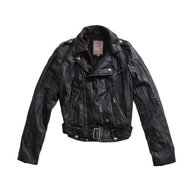 Washed Moto Jacket Washed Moto Jacket