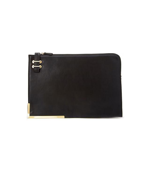 Forever21 Structured Faux Leather Portfolio