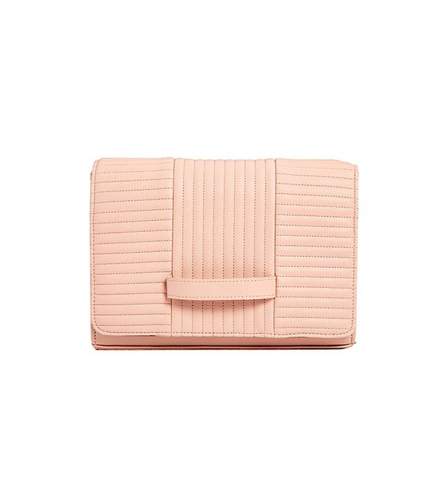 ASOS Clutch Bag with Radiator Quilting