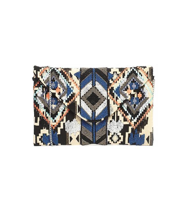 New Look Zulu Embellished Clutch Bag