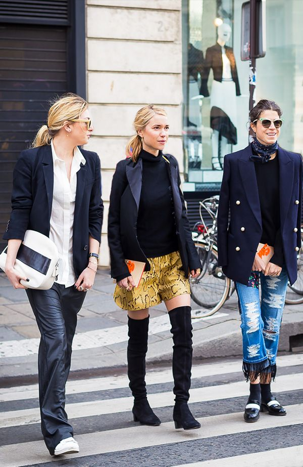 5. The coolest fashion bloggers on the block, and by block, we mean world.