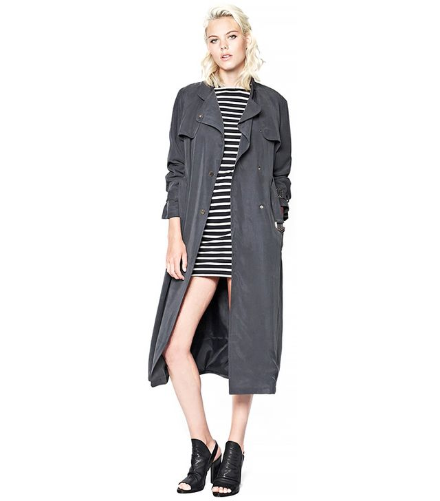 French Connection Desert Drape Belted Coat