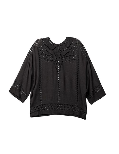 Isabel Marant Ethan Embroidered Blouse