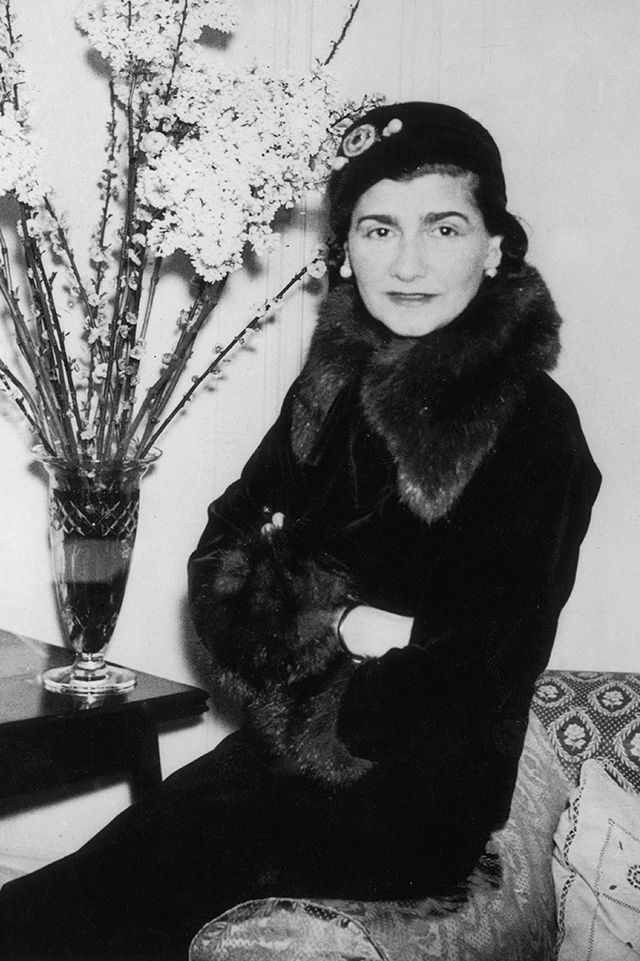 <p><em>Coco Chanel in London, 1932</em></p>