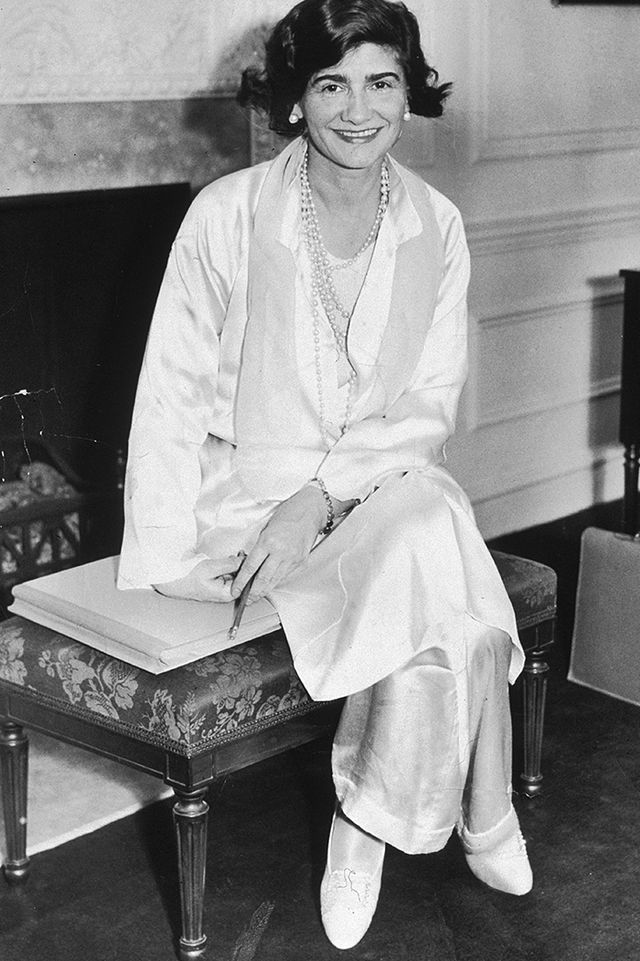 <p><em>Coco Chanel on her first trip to New York City, 1931</em></p>