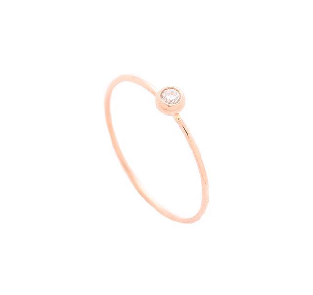 Blanca Monros Gomez White Diamond Ring