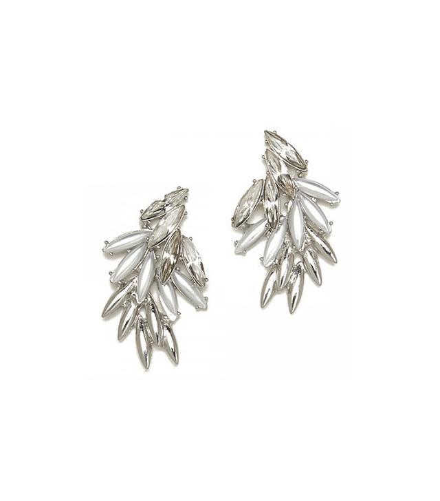 Jeweliq Flora Dew Drop Earrings
