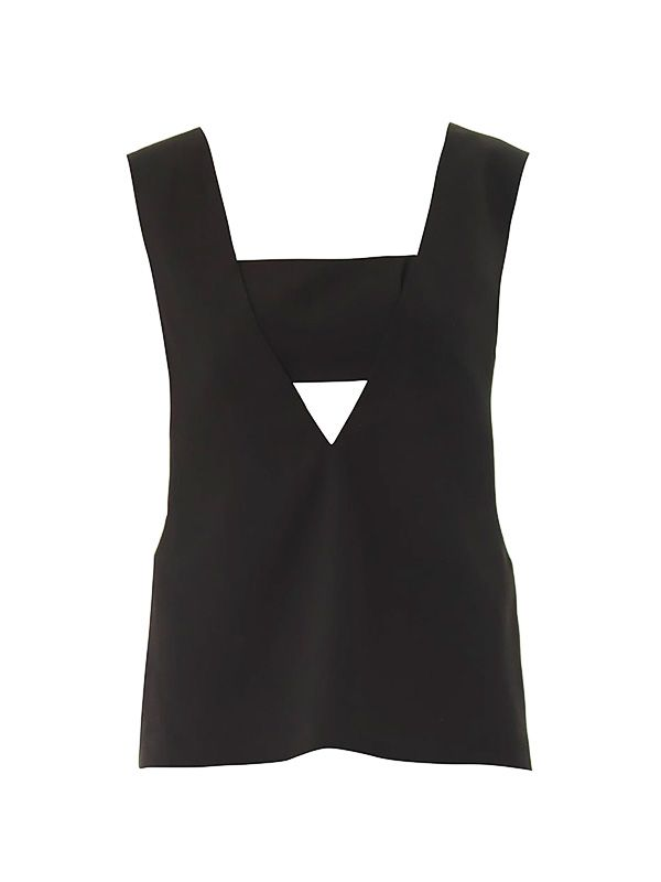 T by Alexander Bust-Panel V-Neck Top