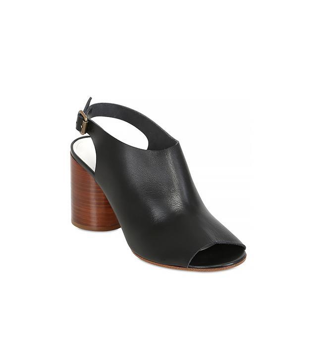 Maison Martin Margiela Leather Open Toe Sandals
