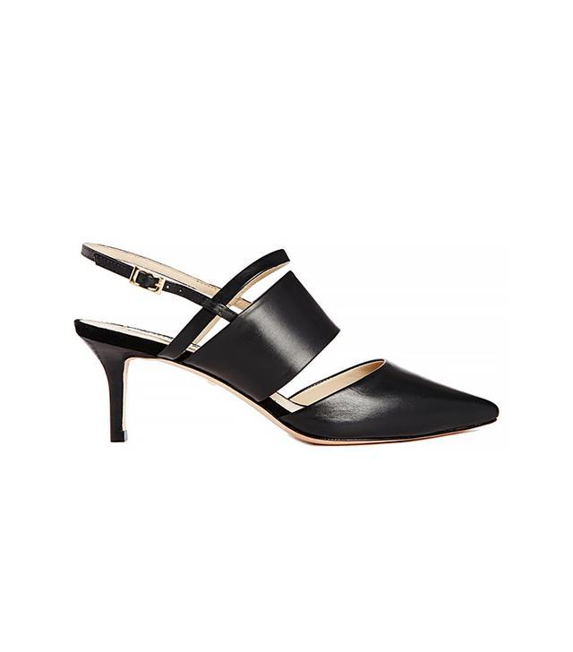 Whistles Joanna Mid Heeled Mule Shoes
