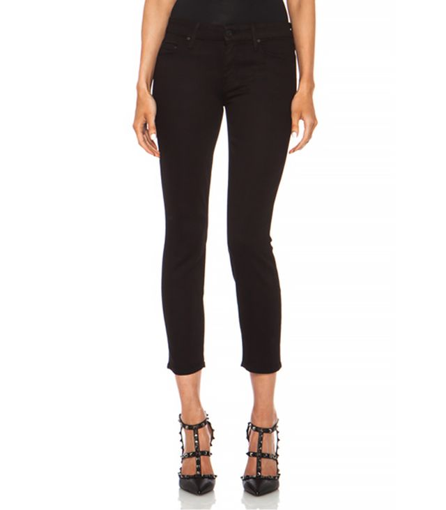 Mother The Looker Crop Jeans