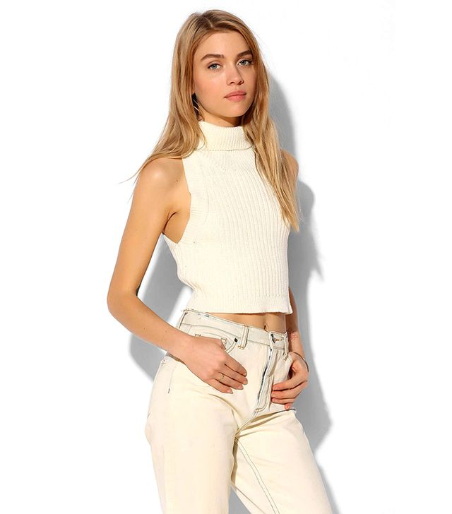 Lover + Friends North Star Cropped Sweater
