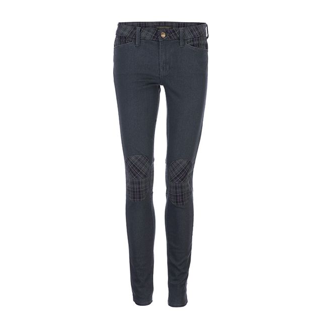 GENETIC x Liberty Ross Susan Moto Skinny with Knee Patches