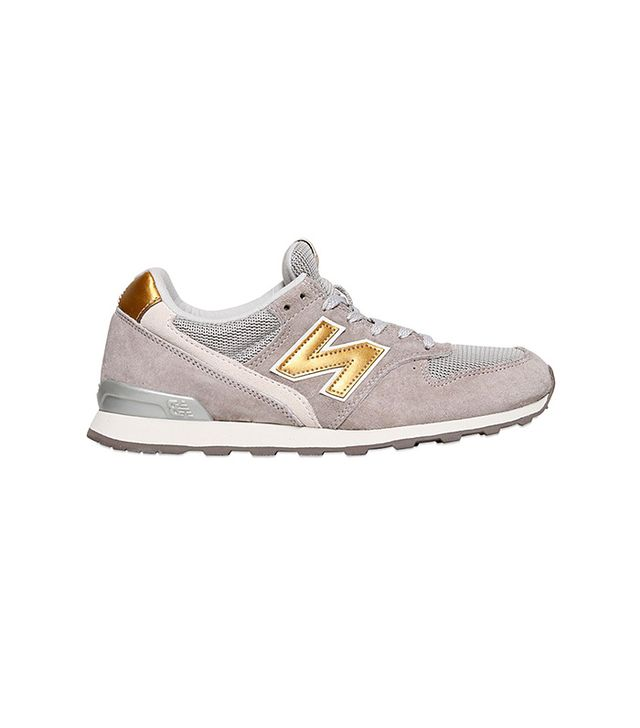 New Balance 996 Suede Mesh Sneakers