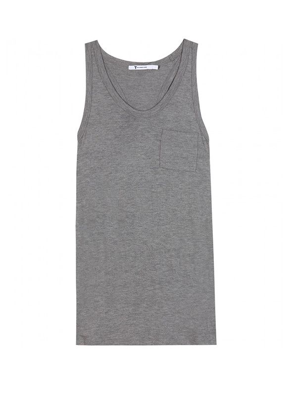 T by Alexander Wang Classic Jersey Tank Top