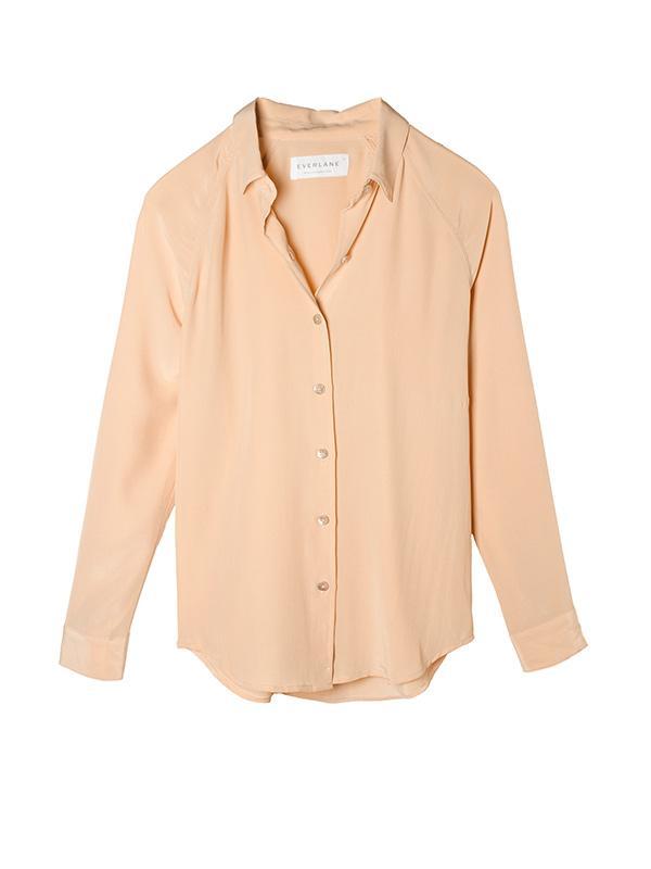 Everlane The Silk Point Collar Shirt