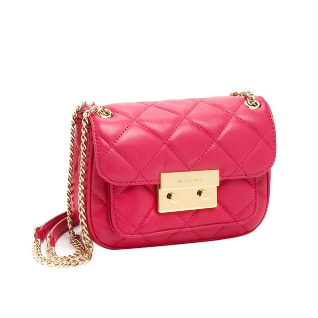 Michael Michael Kors Small Sloan Quilted Messenger