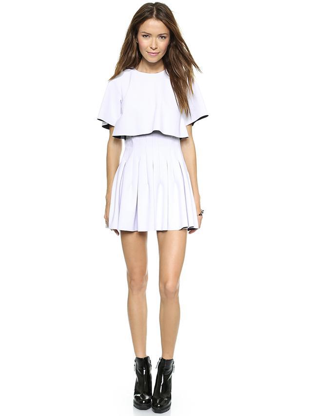 Shakuhachi Future Minimal Pleated Dress