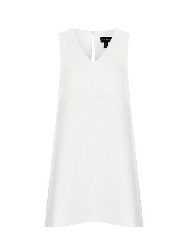 Topshop Jacqard Trapeze Dress