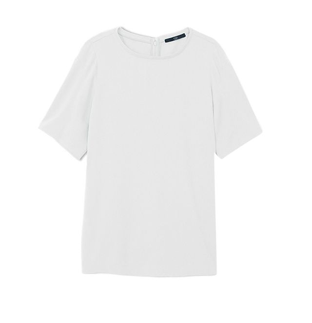 Tibi Savanna Crepe Top