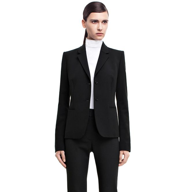 Acne Studios Black Wool Blazer