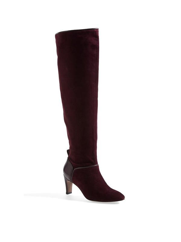 10 Crosby Derek Lam Margo Suede & Leather Boots