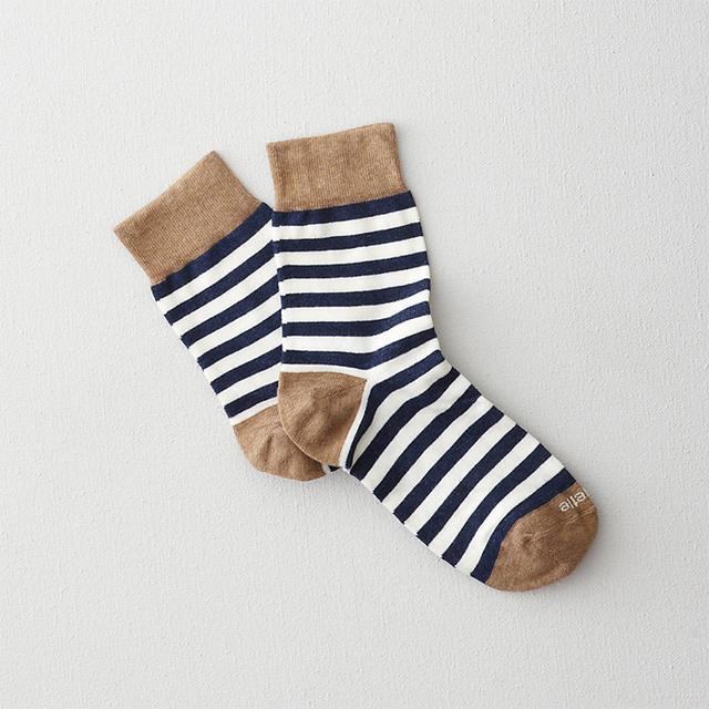 Etiquette Clothiers Abbey Stripe Socks