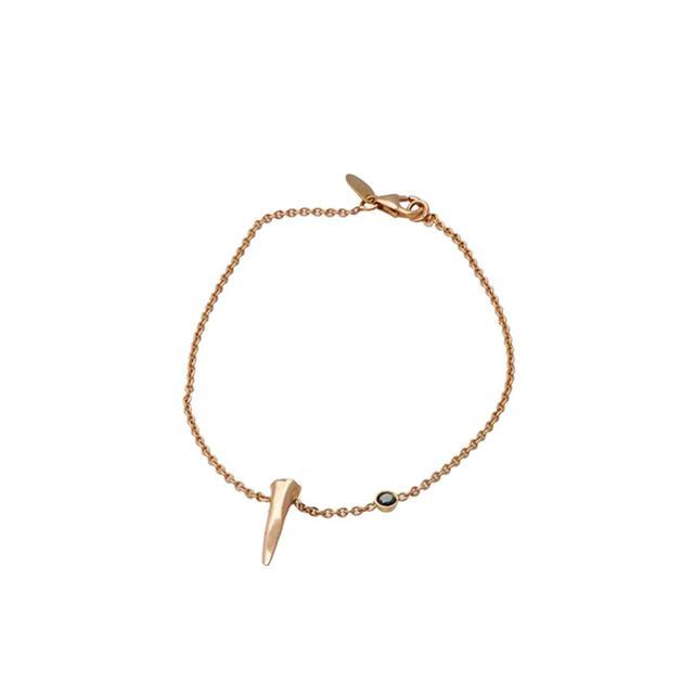 Skyler Man Shark Tooth Rose Gold Bracelet