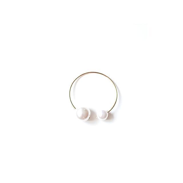 The Haute Pursuit Double Pearl Bracelet