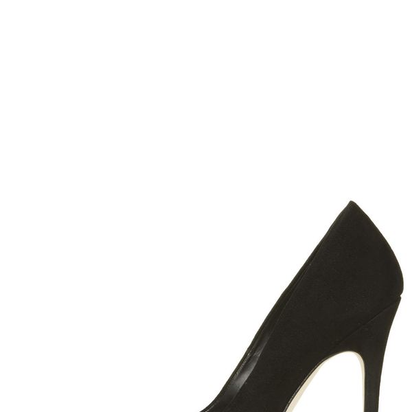 Topshop Gallop Suede Court Shoes
