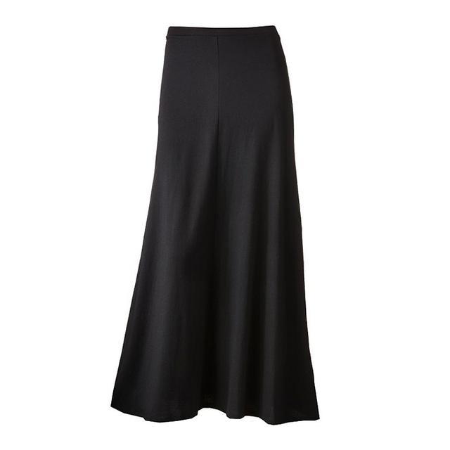 LC Lauren Conrad Solid Maxi Skirt