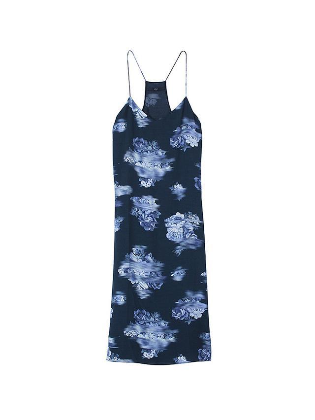 Tibi Floreale Slip Dress