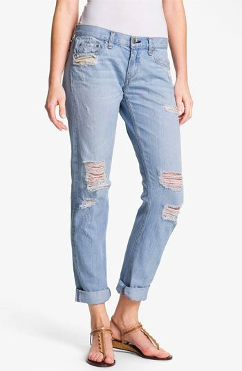 Rag & Bone/JEAN  The Boyfriend Selvedge Denim Jeans