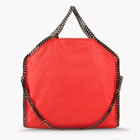 Stella McCartney  Stella McCartney Falabella Shaggy Deer Fold Over Tote