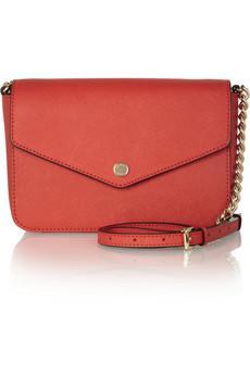 MICHAEL Michael Kors Jet Set Small Leather Envelope Shoulder Bag