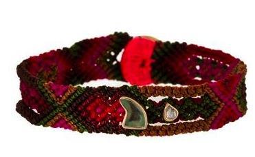 Dezso by Sara Beltran  Dezso by Sara Beltran Shark Fin and Polki Diamond Mexican Bracelet
