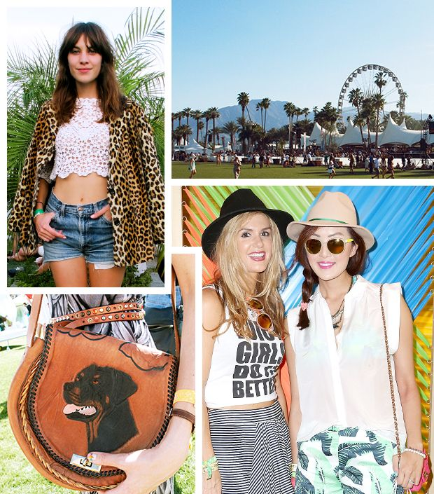 The Best Dressed Attendees From Coachella Weekend One