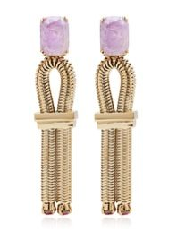 House of Lavande  House of Lavande Sea Goddess Collection Jeweled Knot Earrings