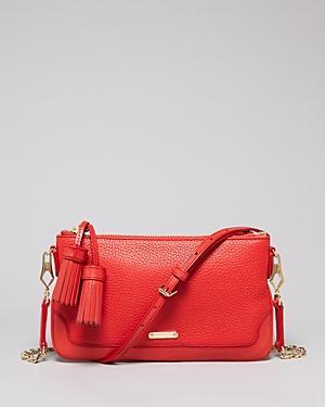 Burberry  Peyton Tassel Crossbody Bag