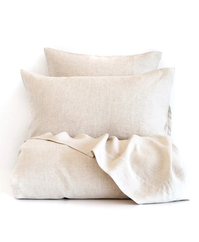 Zara Natural-Colour Linen Bedding