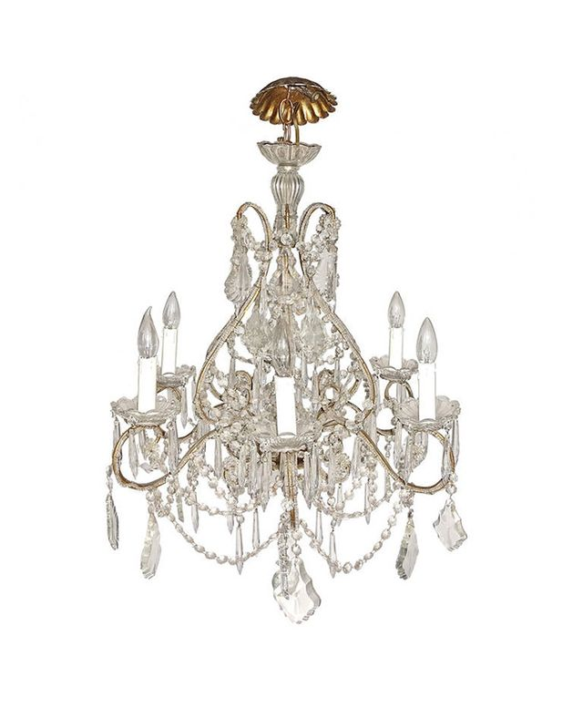 Tod Donobedian French Crystal Marie Therese Chandelier