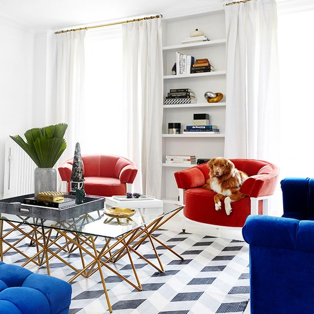 Home Tour: Inside a Glamorous and Bold New York Townhouse