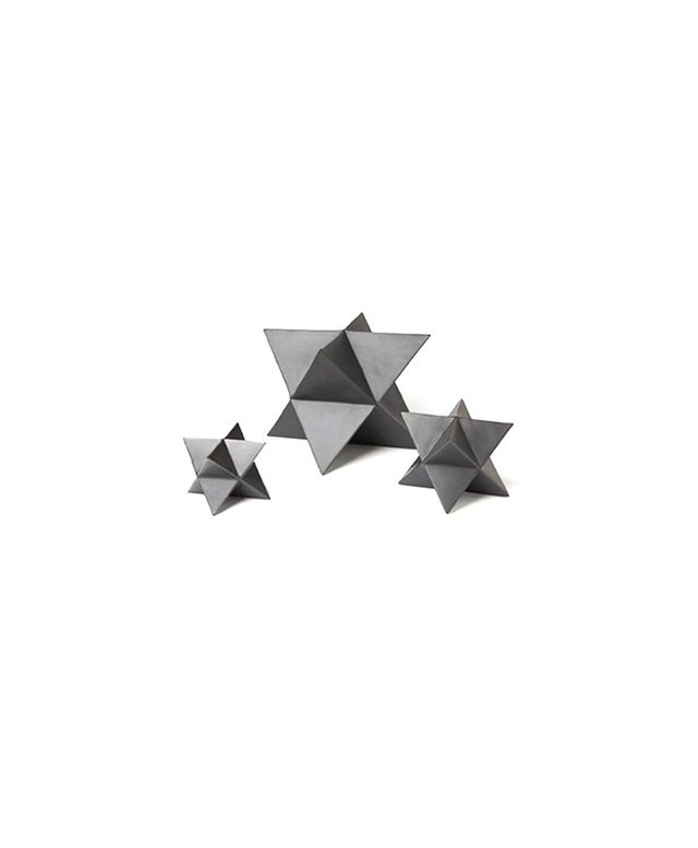 Pulp Home Set of Three Star Objects