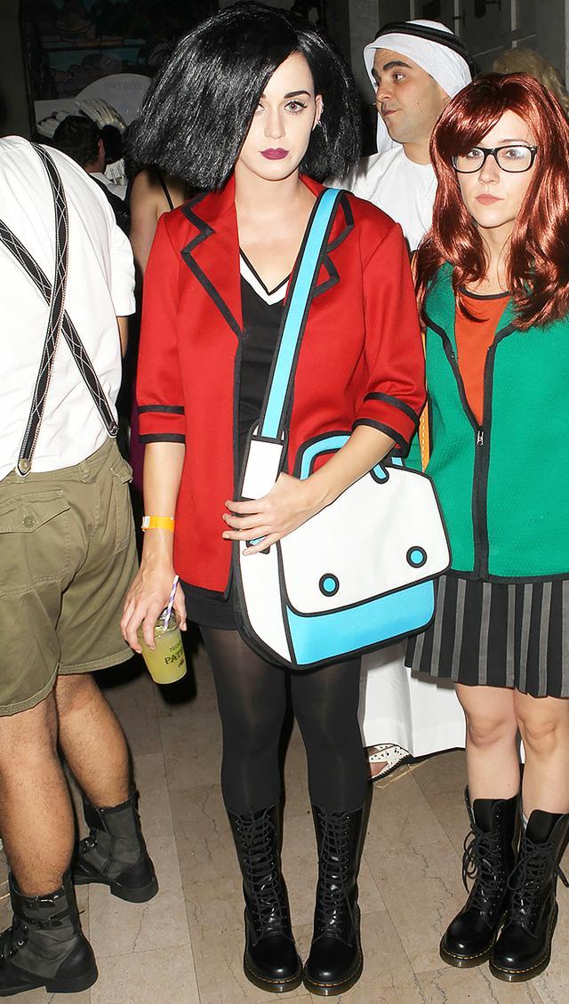 Katy Perry Daria Halloween costume