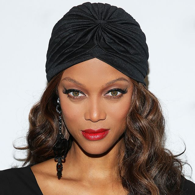 Tyra Banks Without Makeup: Exclusive: Tyra Banks On Cheekbone Envy And Her 3-Minute
