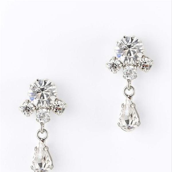 Ann Taylor  Small Crystal Drop Earrings