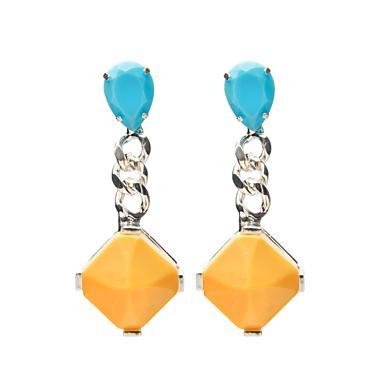 Fenton  Multicolor Drop Earrings