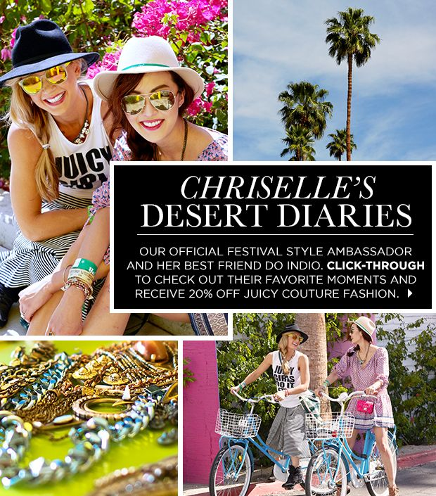 Check Out Chriselle's Favourite Festival Moments
