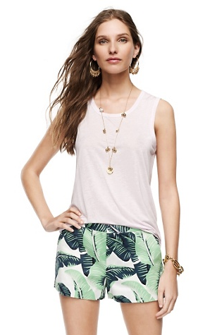 Juicy Couture Printed Palmetto Shorts